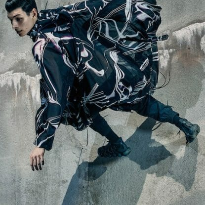 Yohji Yamamoto Experiments with Movement for Y-3 SS16