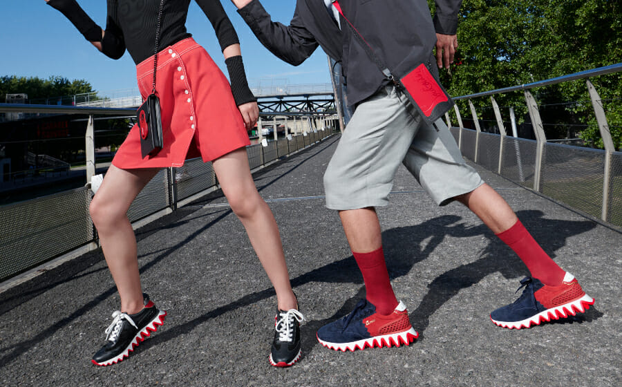 The Christian Louboutin Loubishark Sneaker Bites Back this Season
