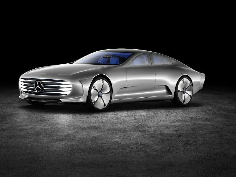 The Concept Car: Mercedes Benz Concept IAA