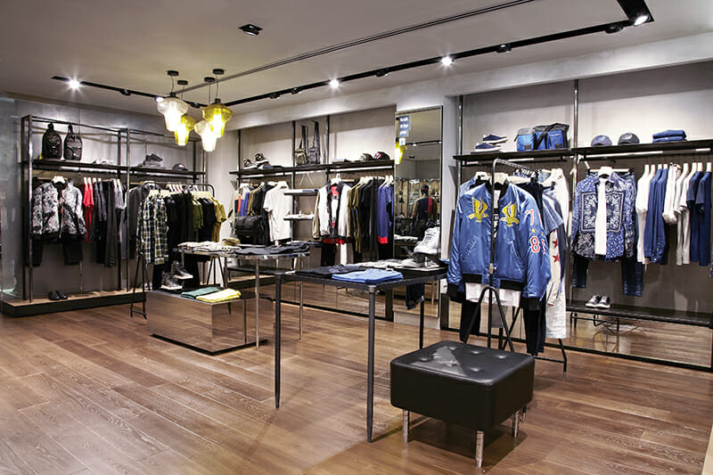 Comeback Kid: New Diesel Store at The Paragon