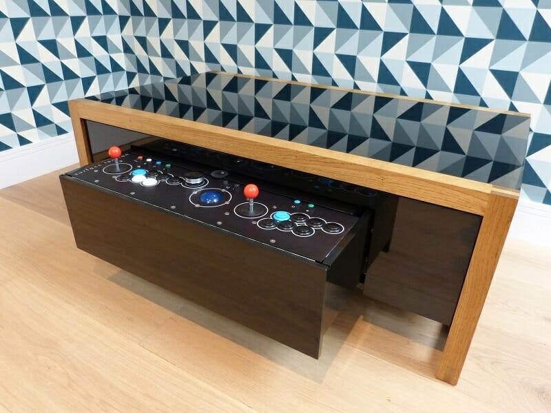 The Arcade Game Table: Surface Tension Nucleus