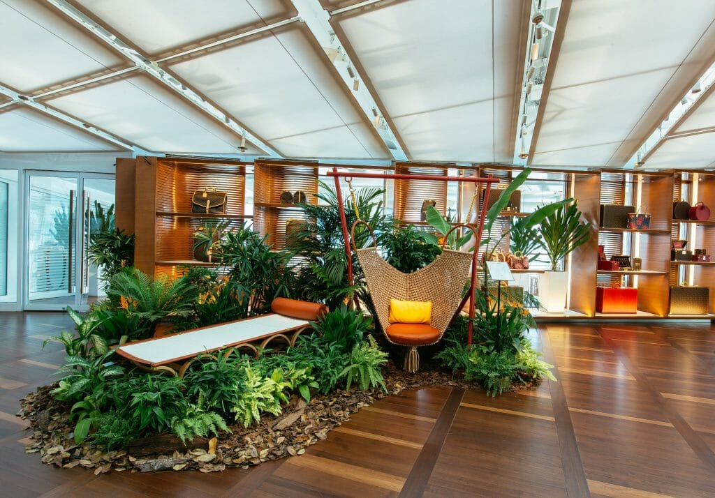 Louis Vuitton Opens Travel-Inspired Exhibition, Objets Nomades, In Singapore