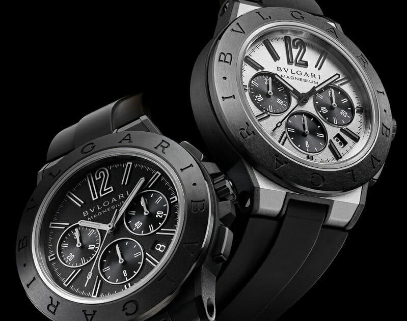 Competitive Spirit: Bulgari New Diagono Watches