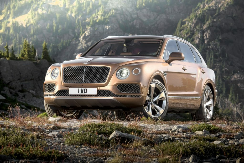 Big And Bold: Bentley Bentayga SUV