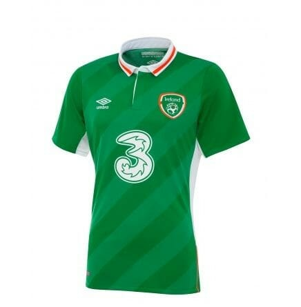 Umbro's jersey for Ireland