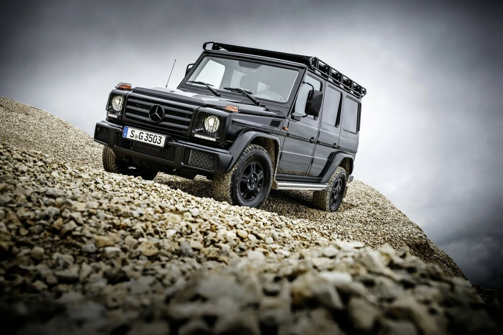 The Mercedes G 350 d Professional: For Off-Road Purists Only