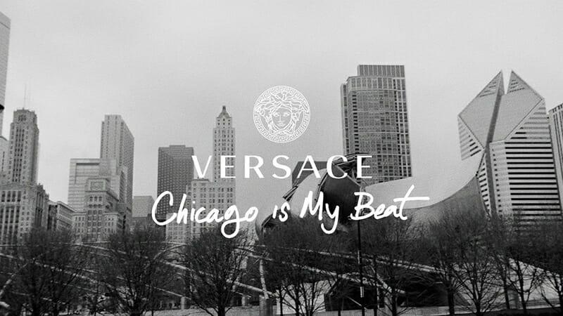 Versace FW16 Campaign Celebrates Chicago's Vitality