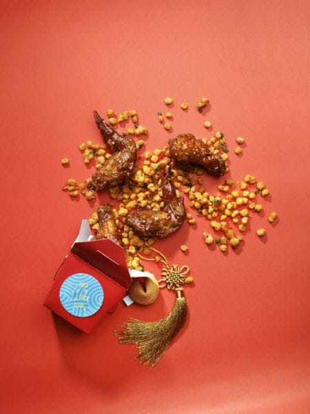 Full of Luck Club - Chili Glazed Fried Fermented Bean Paste Chicken Wings