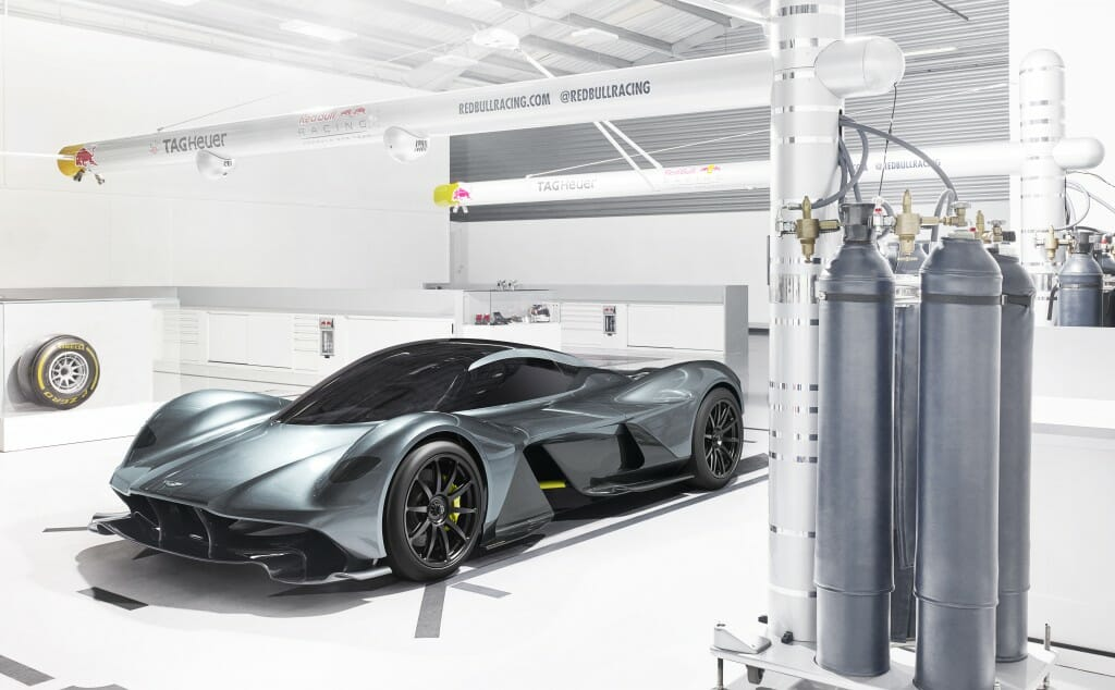 Aston Martin AM-RB 001: The Future, Now