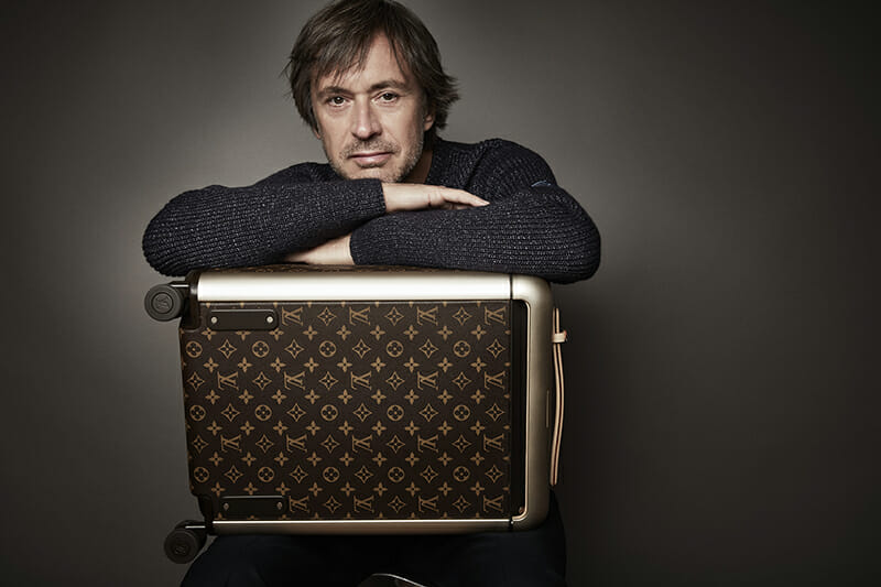 Marc Newson X Louis Vuitton: Rolling Luggages