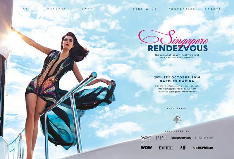 SINGAPORE RENDEZVOUS The Trailer
