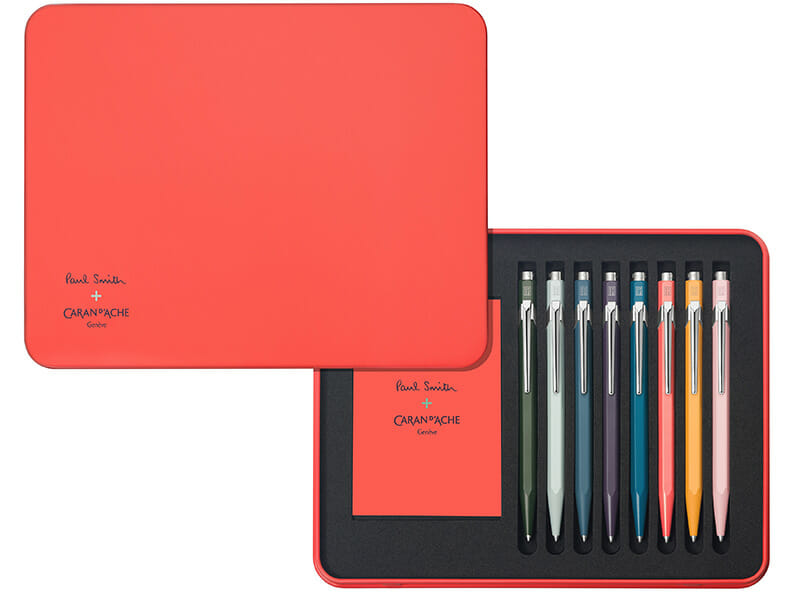 Paul Smith's Revamps The Iconic Caran d'Ache's 849 pen