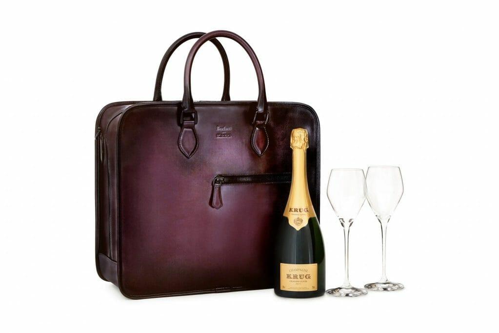 Berluti Pour Krug Limited Edition Bags