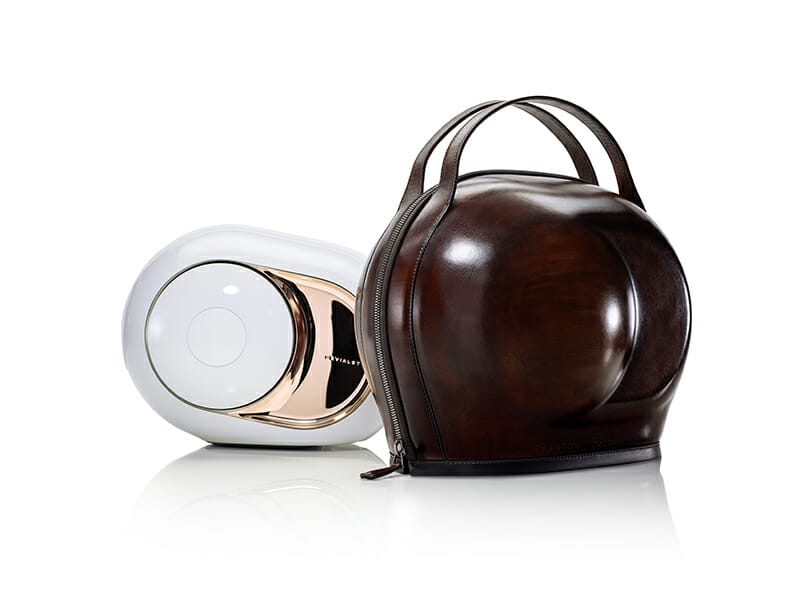 Berluti and Devialet present the Cocoon