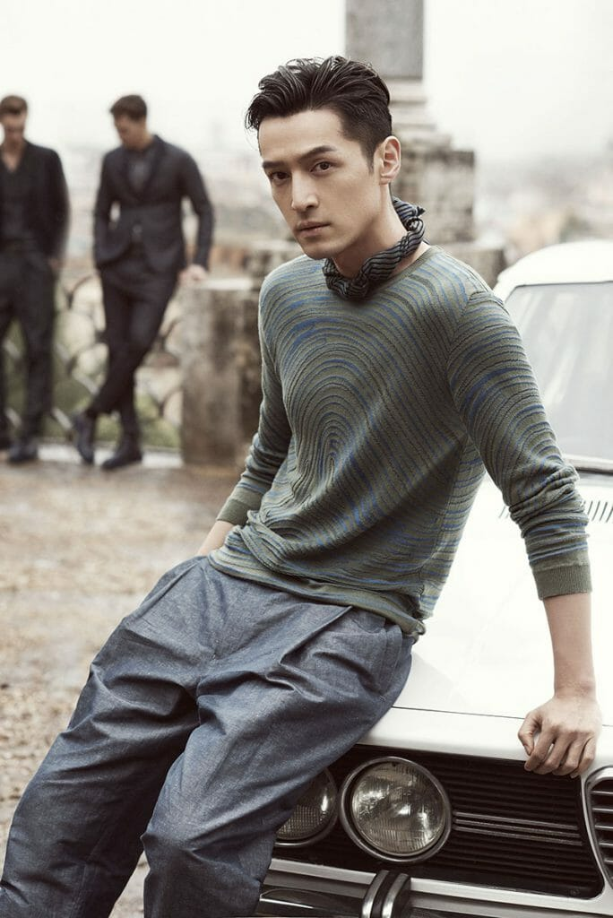 Hu Ge: The new face of Emporio Armani in China and Asia Pacific