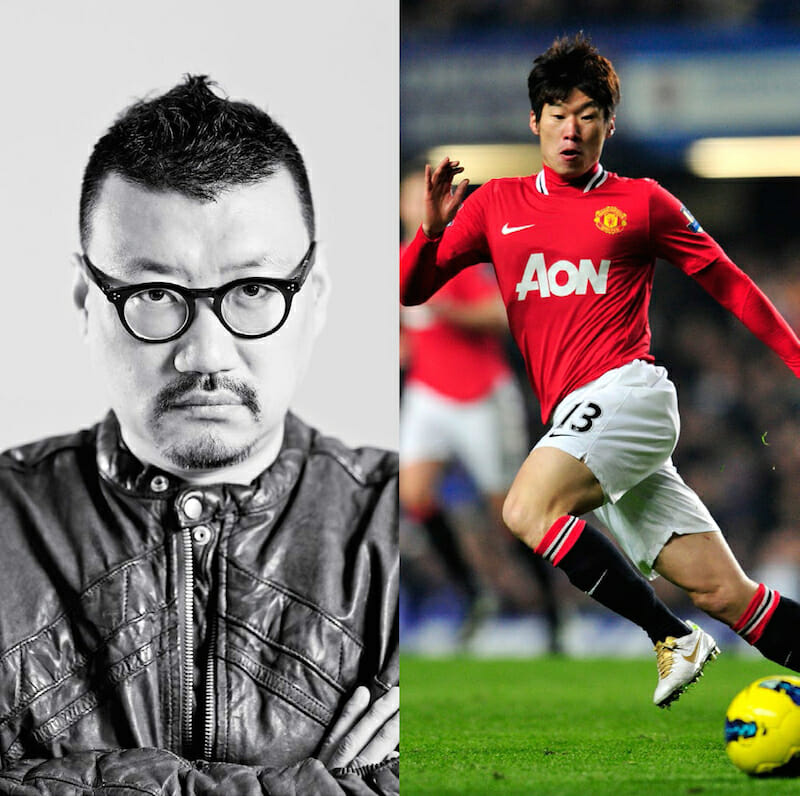 From left to right: Hugo Lee, Park Ji-Sung