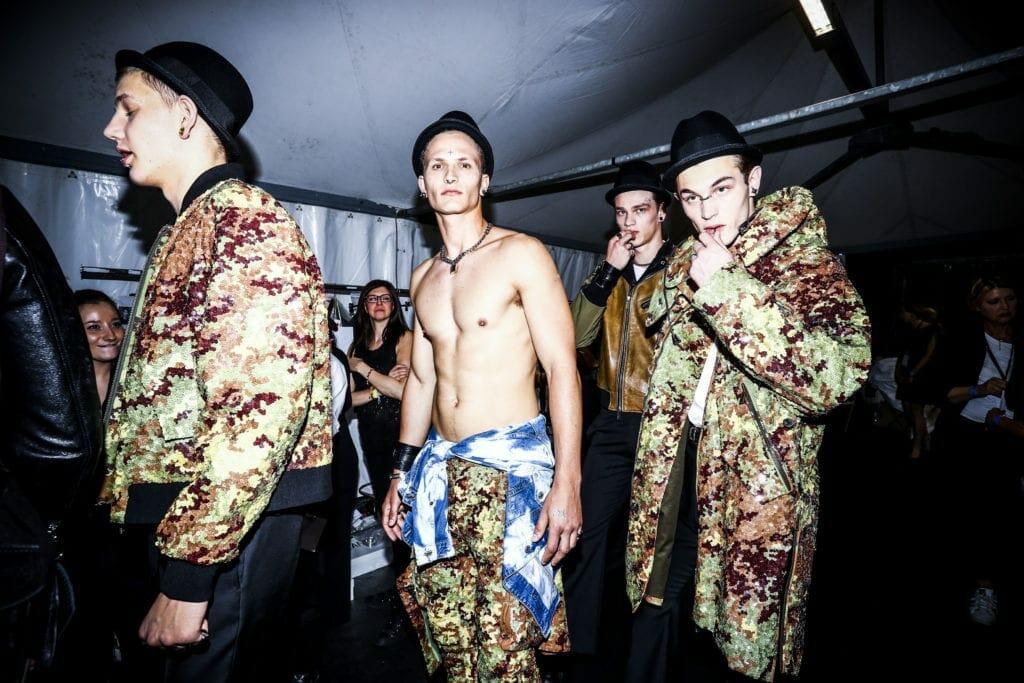 Dsquared2 - Backstage - Milan Men's Fashion Week SS17