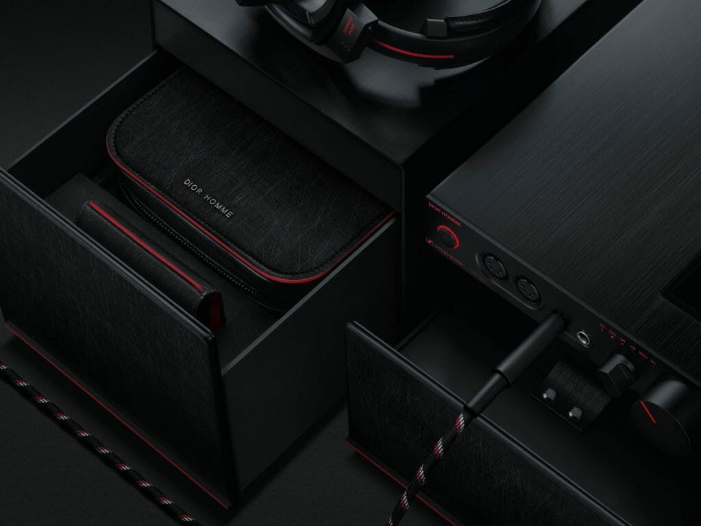 Dior Homme X Sennheiser Sleek Audio Accessories