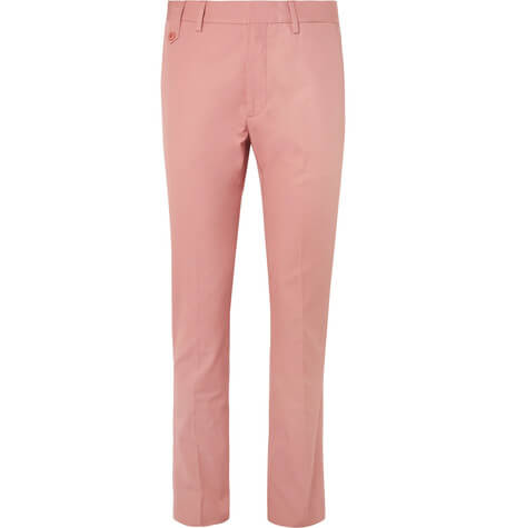 Stella Mccartney Pink Slim fit trsouers