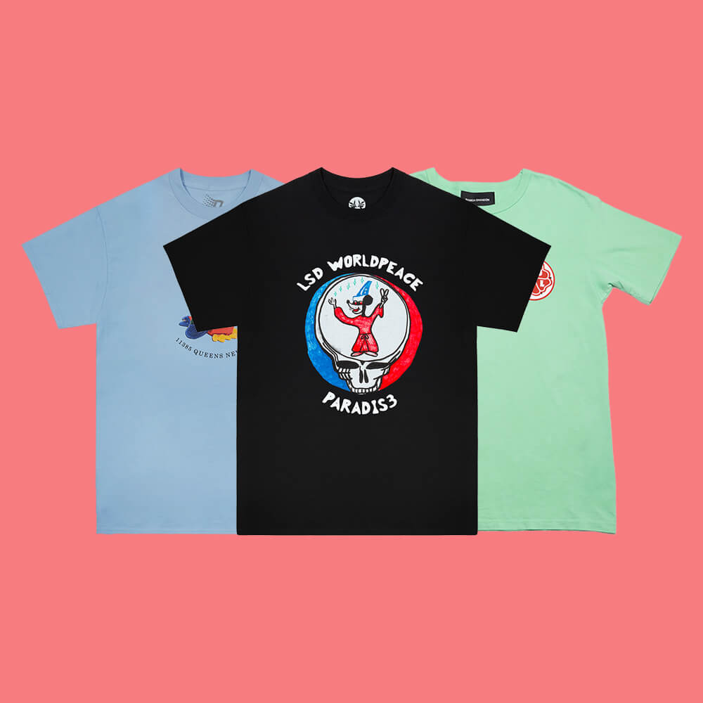 Men's Folio picks: Dover Street Market tees