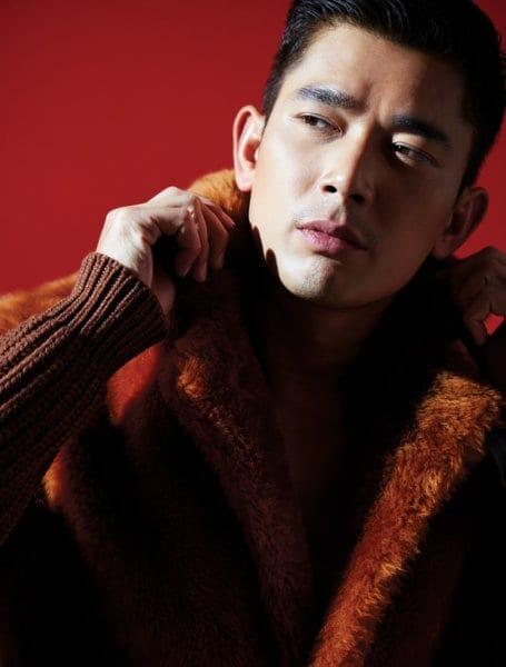 Ermenegildo Zegna Couture Wool and fur coat
