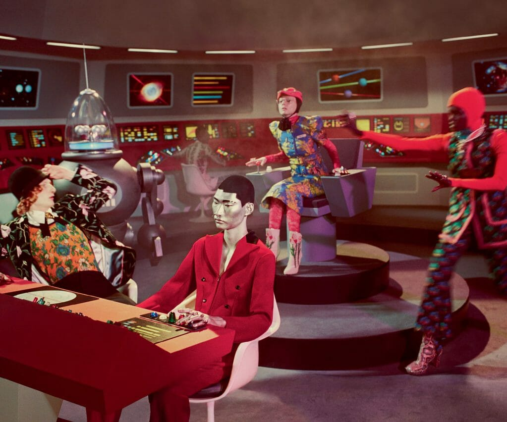 Enter Gucci's World of Psychedelic Sci-Fi Fantasy for Fall/Winter 2017