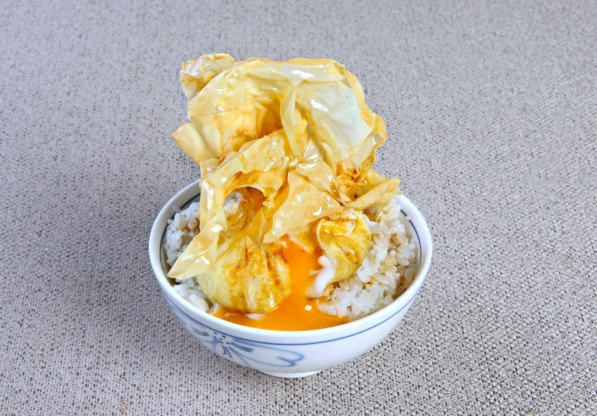 Original Egg Tempura Rice