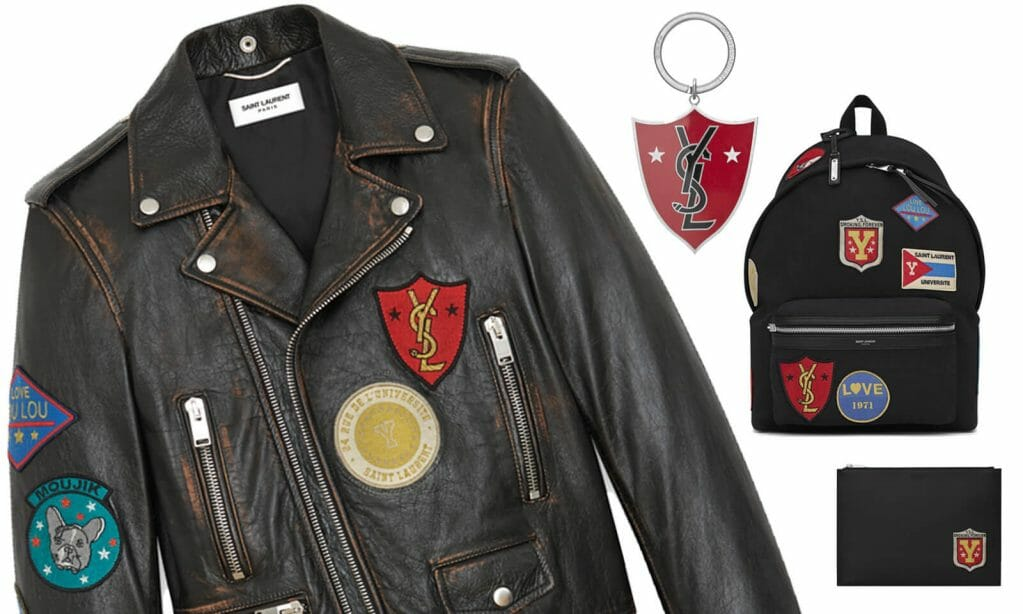Saint Laurent releasesa new collectionof decorative patches for Fall/Winter 2017