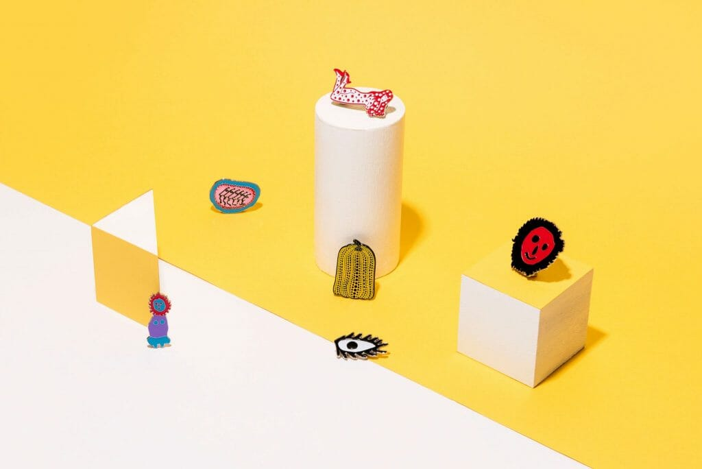 Connect the dots with Gallery & Co.'s Yayoi Kusama-themed merchandise and dining menu