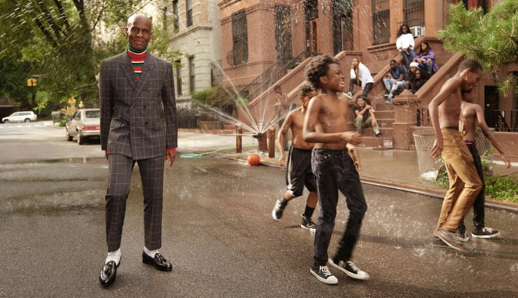 Harlem Couturier, Dapper Dan, collaborates with Gucci for its Menswear Tailoring Campaign