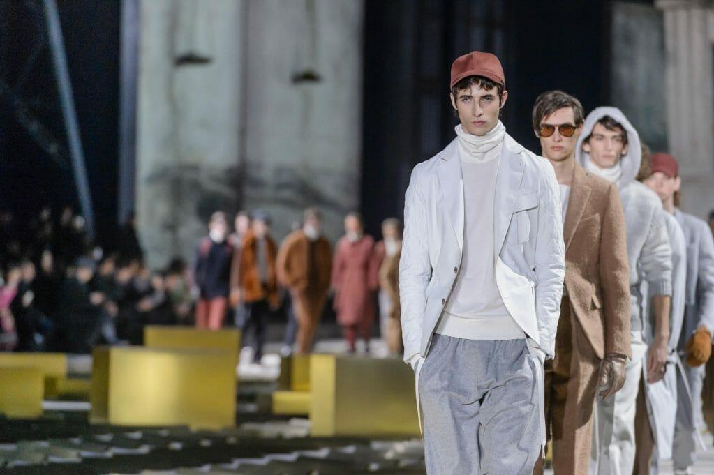 Ermenegildo Zegna reinterprets the classic suit for Fall/Winter 2017
