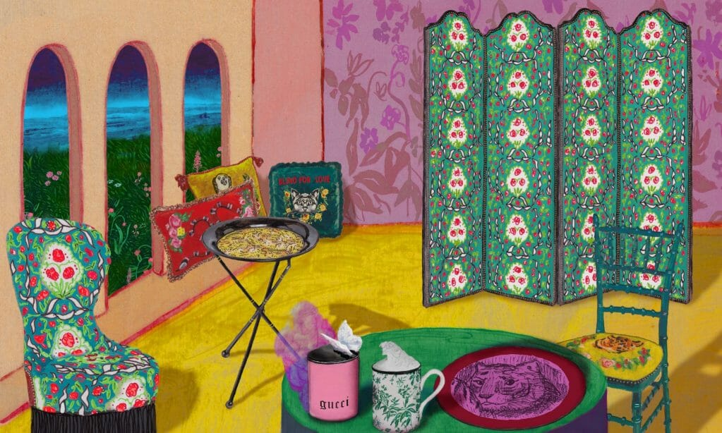 Gucci Décor: The solution to your Dream In-house Aesthetic