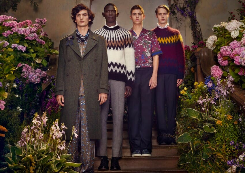 Step into the eternal spring of the Erdem x H&M campaign by Michal Pudelka