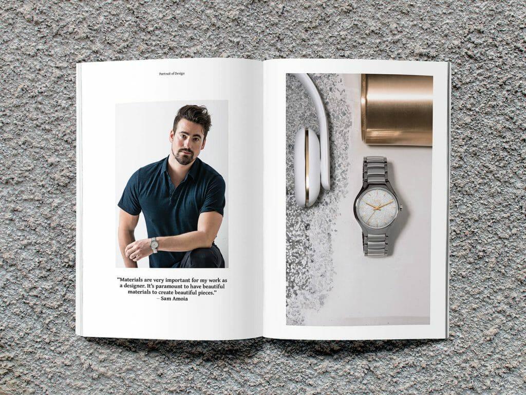 Disco Fever: Rado True X Interior & Furniture Designer Sam Amoia