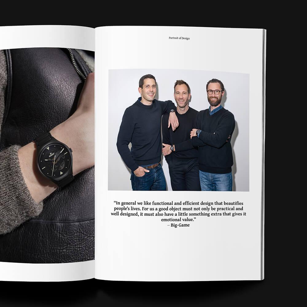Glow With The Flow: Rado X Swiss Design Studio Big-Game