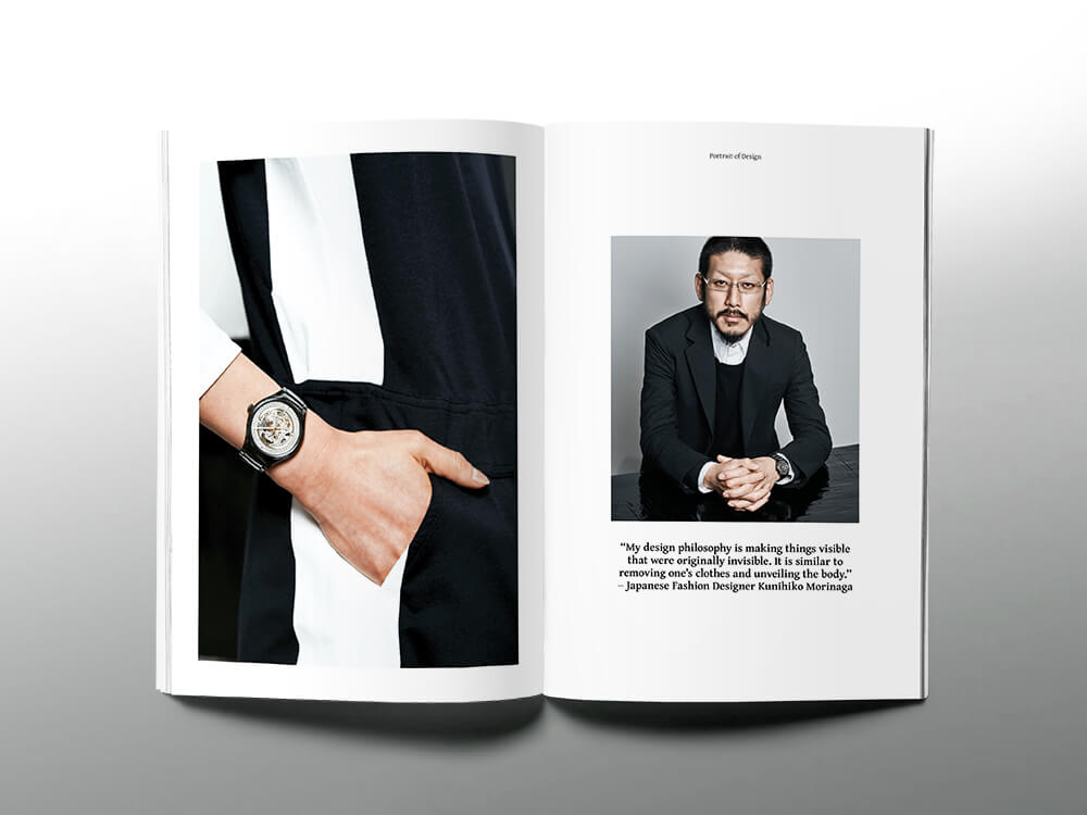 Shadow Play: Rado X Fashion Designer Kunihiko Morinaga
