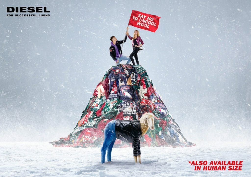 "Diesel Holiday 2017: ""Say No To Uncool Wool"""