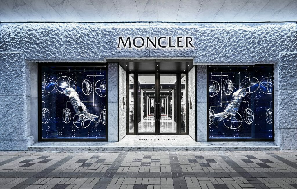 Moncler celebrates its new flagship store in Harbour City, Hong Kong