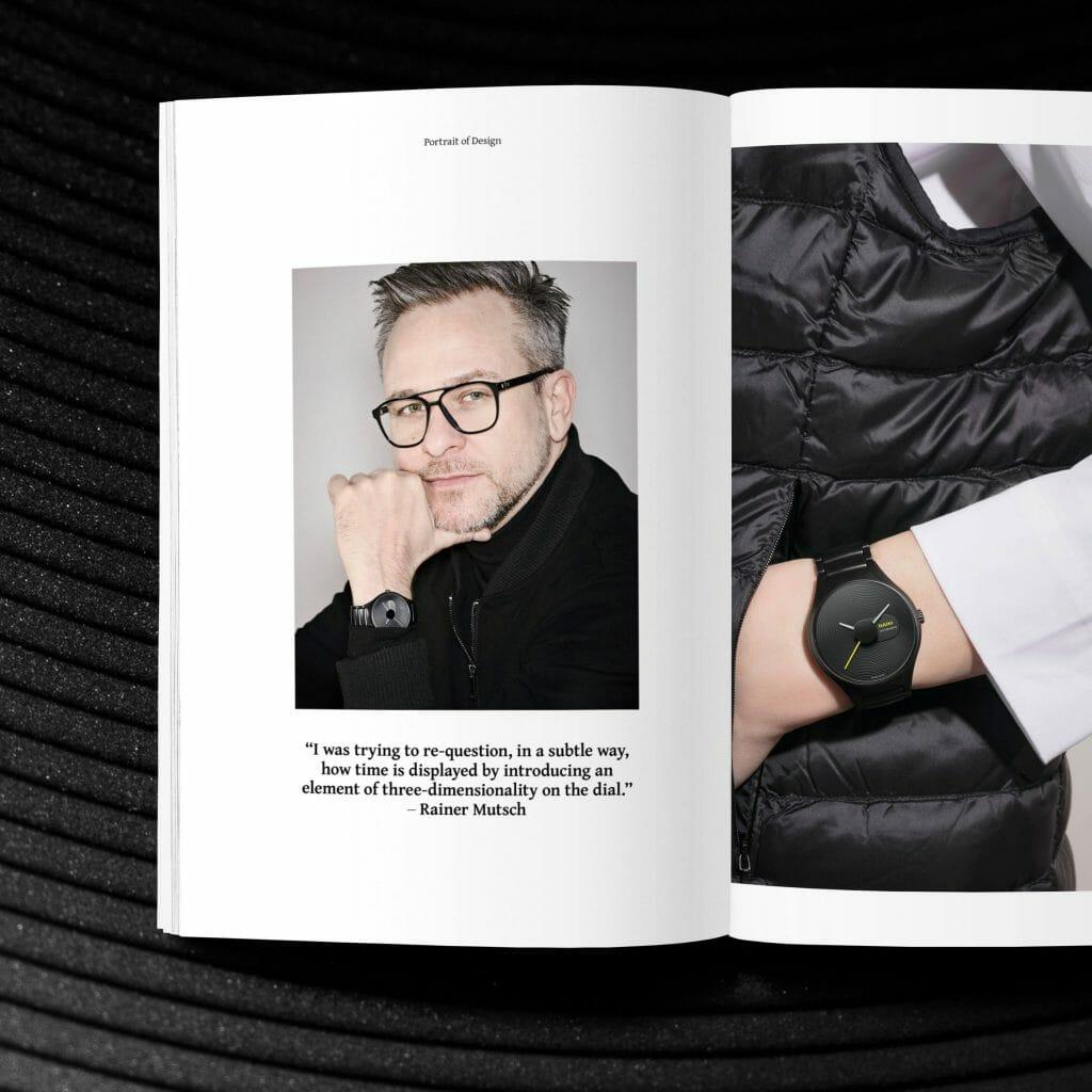 Profound Depth: Rado X Industrial Designer Rainer Mutsch