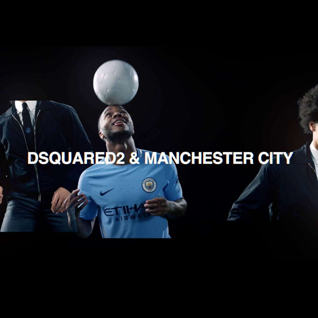Manchester City Suits up in Dsquared2 for Their Fall/Winter 2018 Football Season