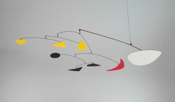 """Alexander Calder —""""The Red Crescent"""" (1969)"""