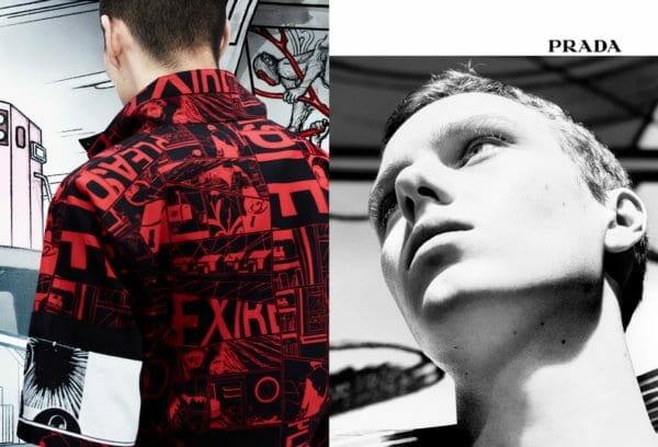 Prada Menswear SS18 Advertising Campaign_Real Life Comix_03