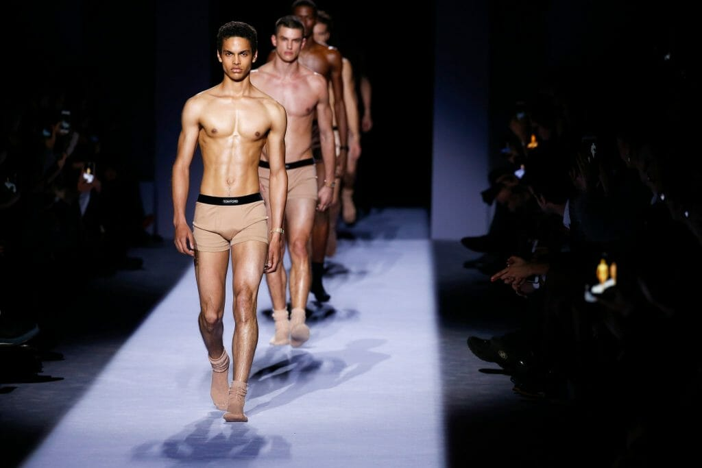 Many Firsts in Tom Ford's Debut Fall/Winter'18 Menswear