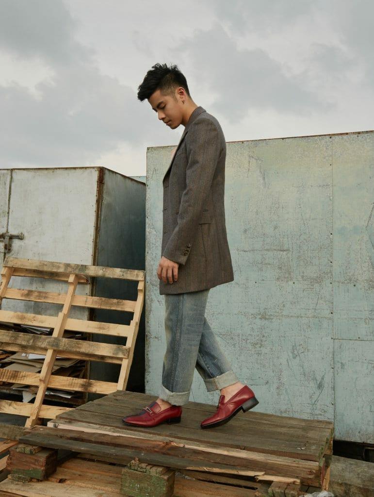 Benjamin Kheng in Gucci