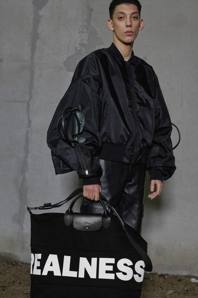 Shayne Oliver Is Serving Longchamp Realness