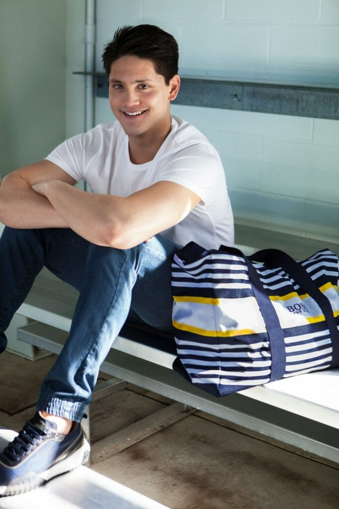 A First Look at Joseph Schooling x BOSS Collection