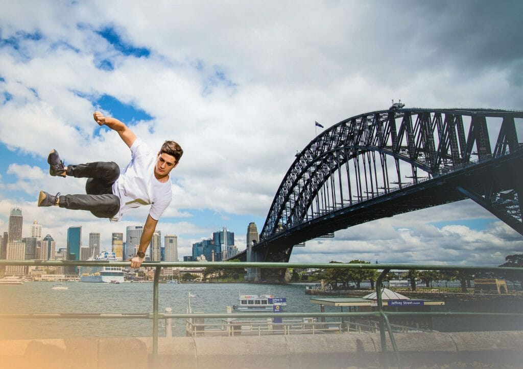 Mido Partners With Parkour Athletes