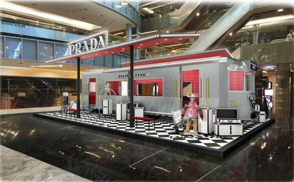 Prada Silver Line Chugs its Way into Paragon