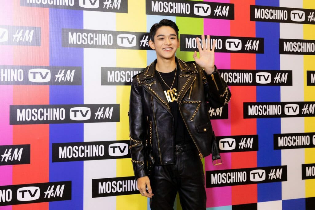 NCT LUCAS in Singapore for Moschino [TV] X H&M