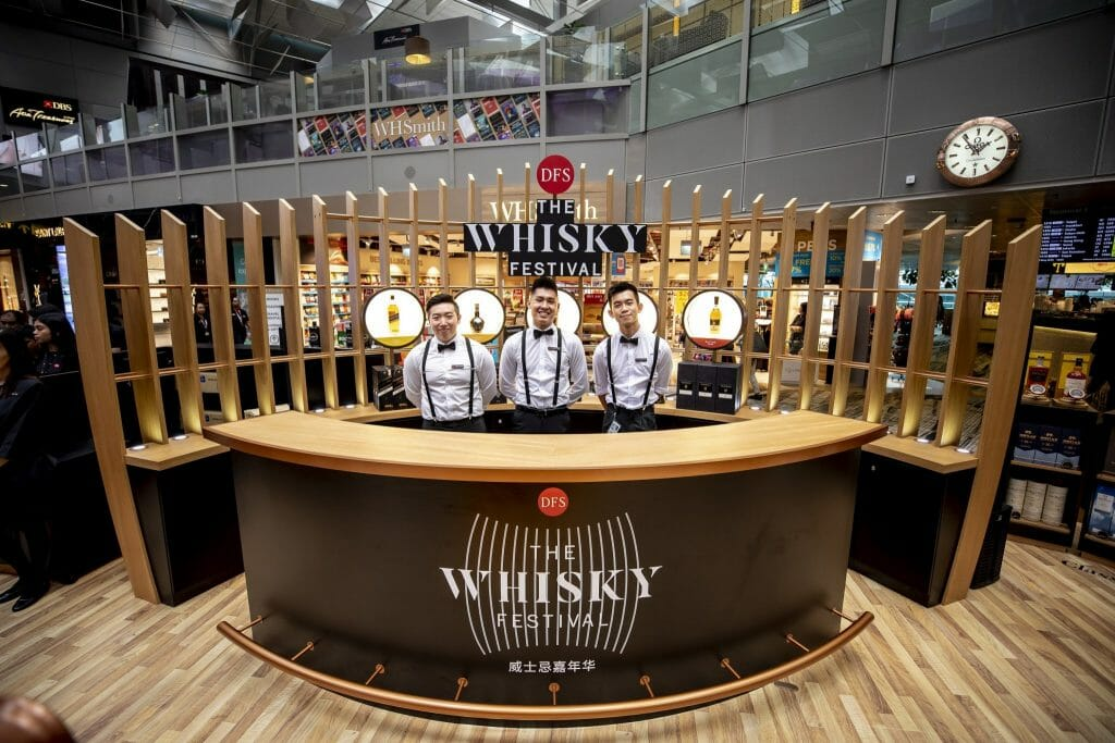 High Spirits at DFS Whisky Festival